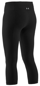 Under Armour Women's Perfect Tight Capri - Black (001)