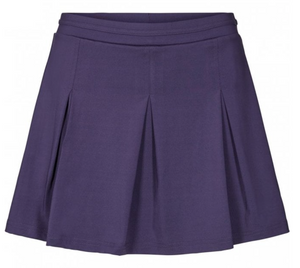 Pure Lime Women's Box Pleat Skirt - Eclipse Blue
