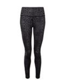 Tri Dri Women's Performance Animal Print Leggings - Snake