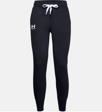 Load image into Gallery viewer, Under Armour Women's Rival Fleece Joggers Sweatpants - Black (001)