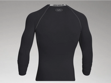 Load image into Gallery viewer, Under Armour Men's HeatGear Armour Long Sleeve Compression Shirt - Black