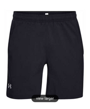 Load image into Gallery viewer, Under Armour Men's Launch 2-in-1 Shorts - Black/Grey