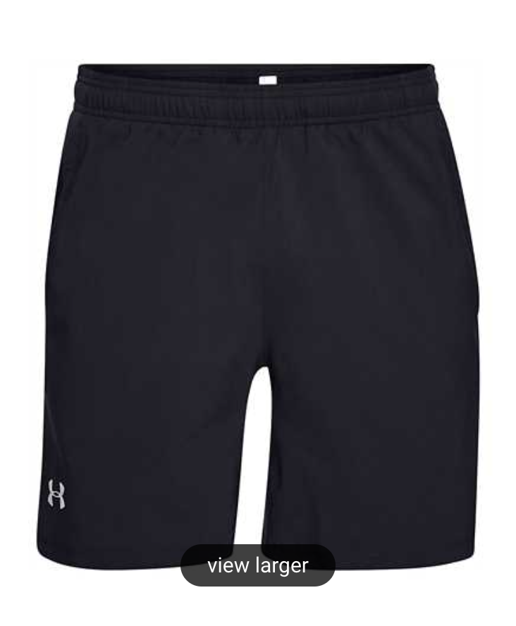 Under Armour Men's Launch 2-in-1 Shorts - Black/Grey