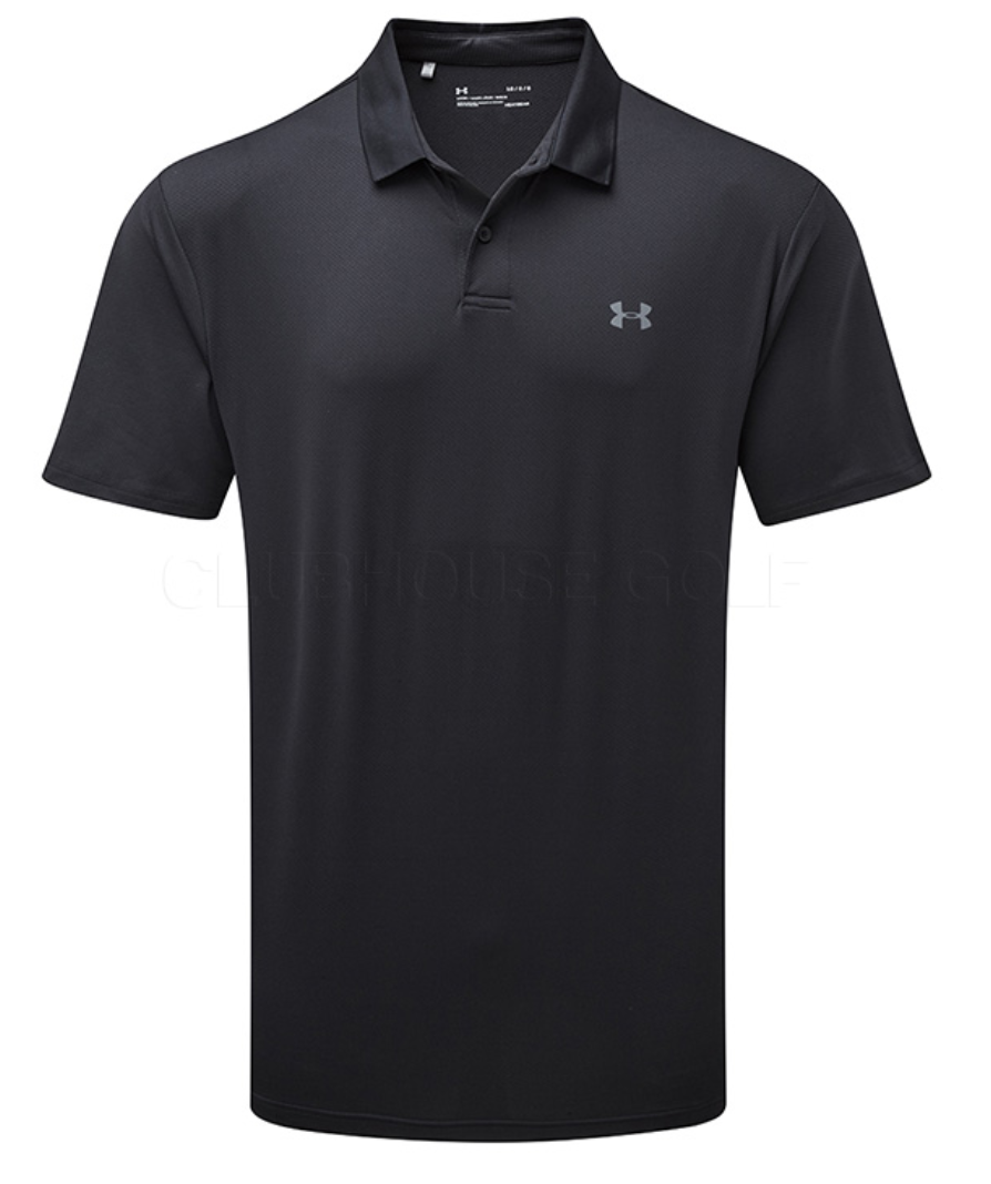 Under Armour Men's Performance Polo - Black (001)