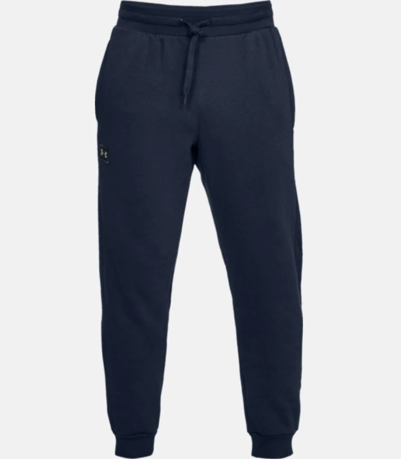 Under Armour Men's Rival Fleece Tapered Joggers - Navy (408)