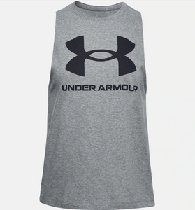 Under Armour Women's Live Sportstyle Graphic Tank - Grey (012)