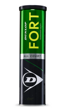 Load image into Gallery viewer, Dunlop Fort All Court Tennis Balls - 4 ball can