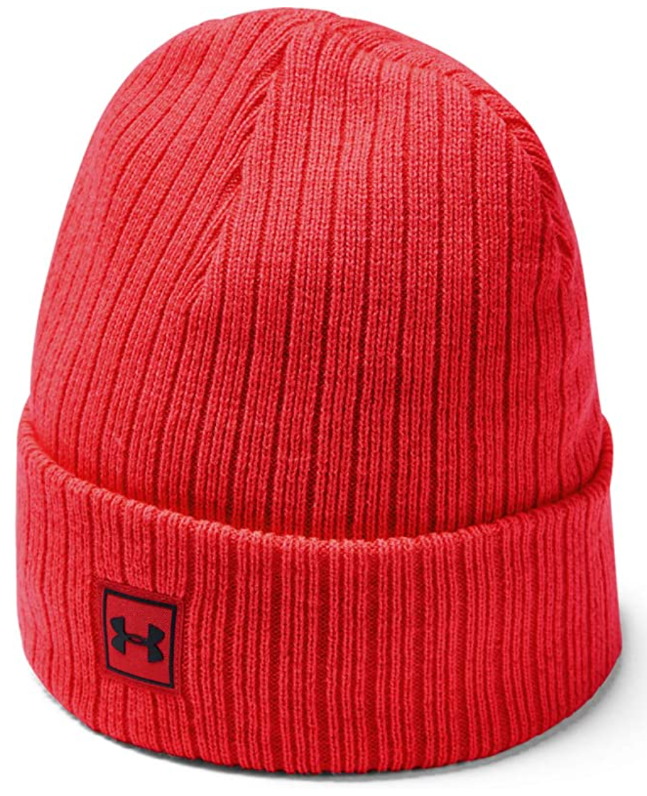 Under Armour Men's Truckstop 2.0 Beanie - Beta Red/Martian Red (632)