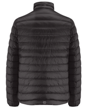 Load image into Gallery viewer, Mac in a Sac Polar II Mens Reversible Down Jacket - JET BLACK / CHARCOAL