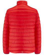 Load image into Gallery viewer, Mac in a Sac Polar II Mens Reversible Down Jacket - RED / NAVY