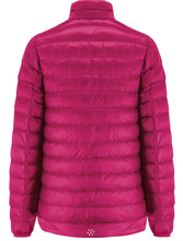 Load image into Gallery viewer, Mac in a Sac Womens Polar II Reversible Down Jacket - FUCHSIA / NAVY