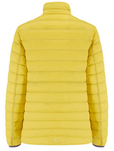 Load image into Gallery viewer, Mac in a Sac Womens Polar II Reversible Down Jacket - YELLOW / GRAPE