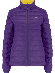 Mac in a Sac Womens Polar II Reversible Down Jacket - YELLOW / GRAPE