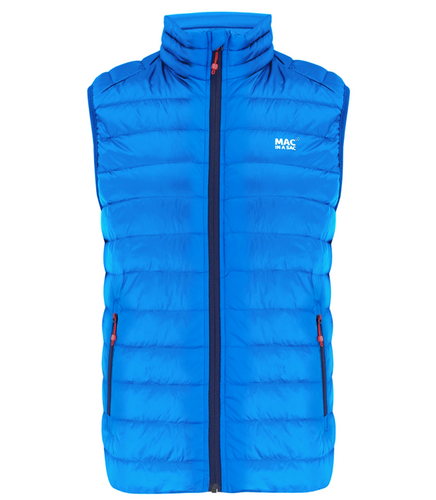 Mac in a Sac Mens Alpine Down Gilet - ROYAL