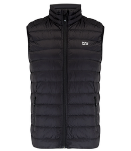 Mac in a Sac Mens Alpine Down Gilet - BLACK