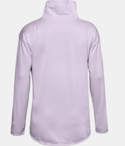 Under Armour Women's Armour Fleece Funnel Neck - Crystal Lilac (570)