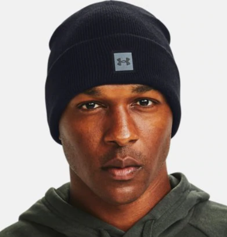 Under Armour Men's Halftime Knit Beanie- Brown (001)