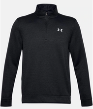Load image into Gallery viewer, Under Armour Men's Storm SweaterFleece ¼ Zip Layer - Black Light Heather (002)