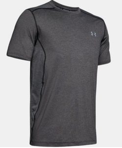 Under Armour Men's Raid Short Sleeve Tee Shirt - Charcoal (090)