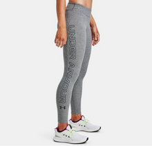 Load image into Gallery viewer, Under Armour Women's Favourite Wordmark Leggings - Carbon Heather (090)
