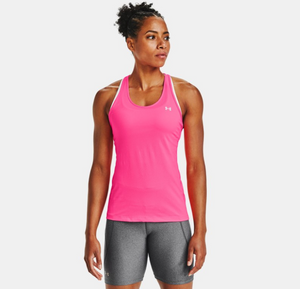 Under Armour Women's HG Armour Racer Tank - Cerise (653)