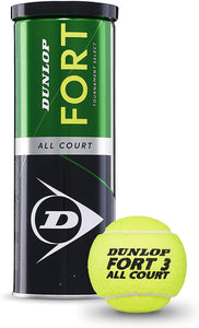 Dunlop Fort All Court Tennis Balls - 3 ball can