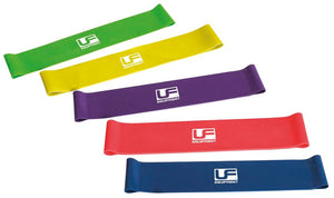 Urban Fitness Resistance Band Loop Set of 5 Bands