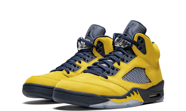 CQ9541-704-Nike-Air-Jordan-5-Michigan-Amarillo-Sneakers-Heat-2