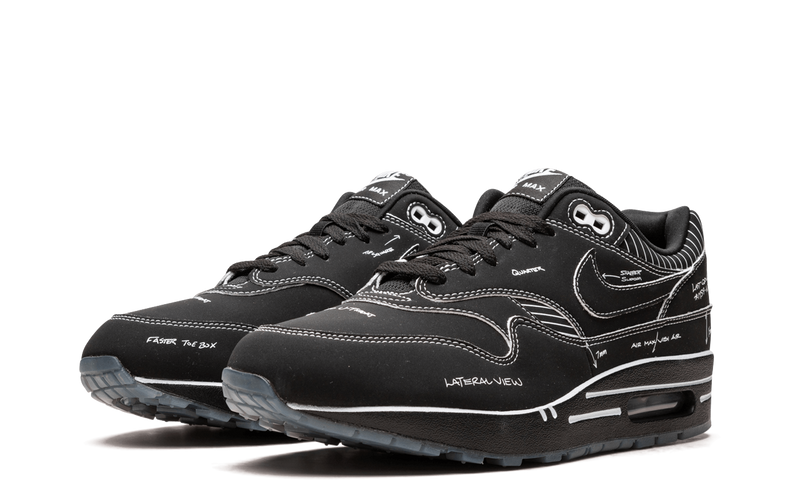 CJ4286-001-Nike-Air-Max-1-Sketch-Black-Sneakers-Heat-2