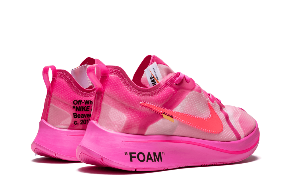 Nike Zoom Fly Off-White Pink   AJ4588