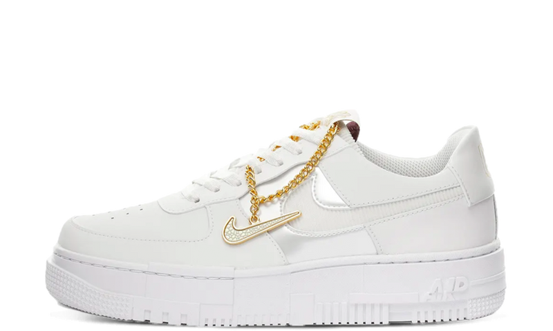 Air Force 1 Pixel Summit White Gold Chain (W)
