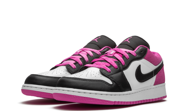 ct1564-005-nike-air-jordan-1-low-black-active-fuchsia-gs-sneakers-heat-2