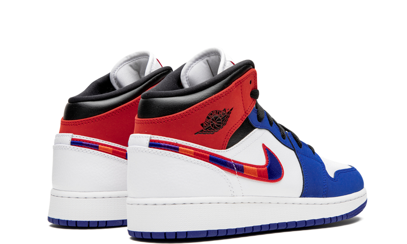 nike-air-jordan-1-mid-rush-blue-university-red-gs-bq6931-146-sneakers-heat-3