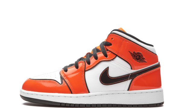 Air Jordan 1 Mid Turf Orange (GS)