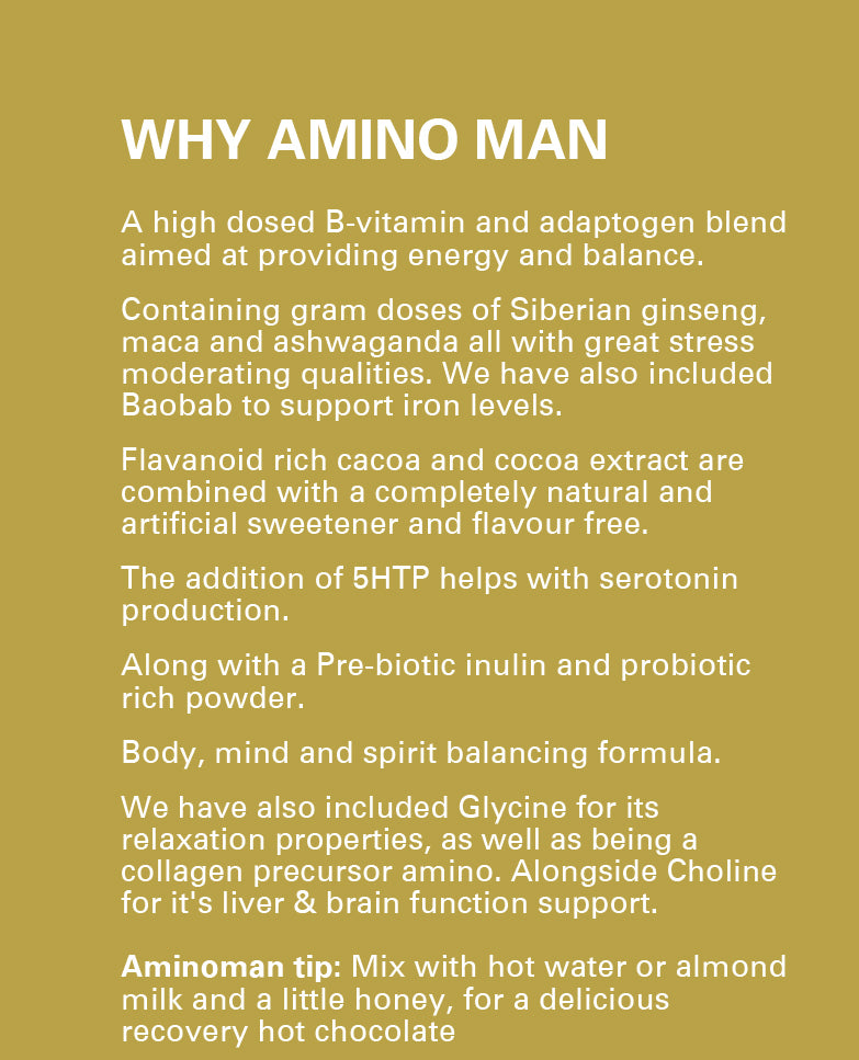 AMBER AMINOS ADAPTOGEN HOT CHOCOLATE