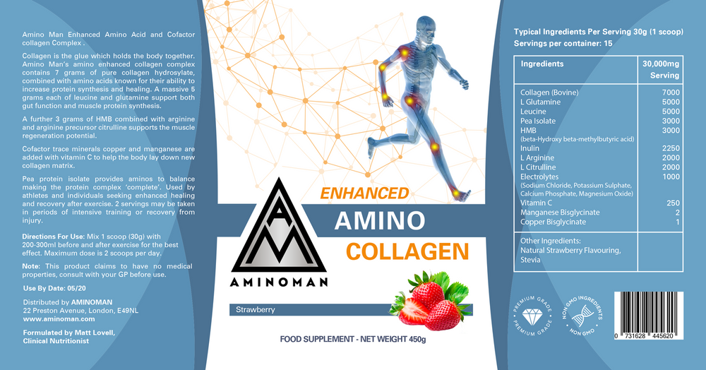 Enhanced Amino Collagen x 5 Multi-Pack