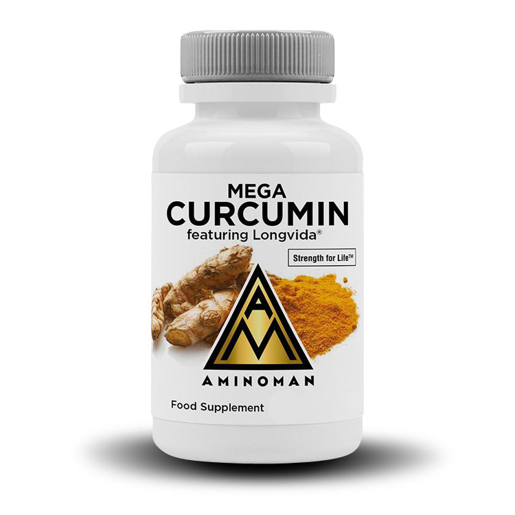Mega Curcumin with Longvida (Best for Injury Recovery & Inflammation)