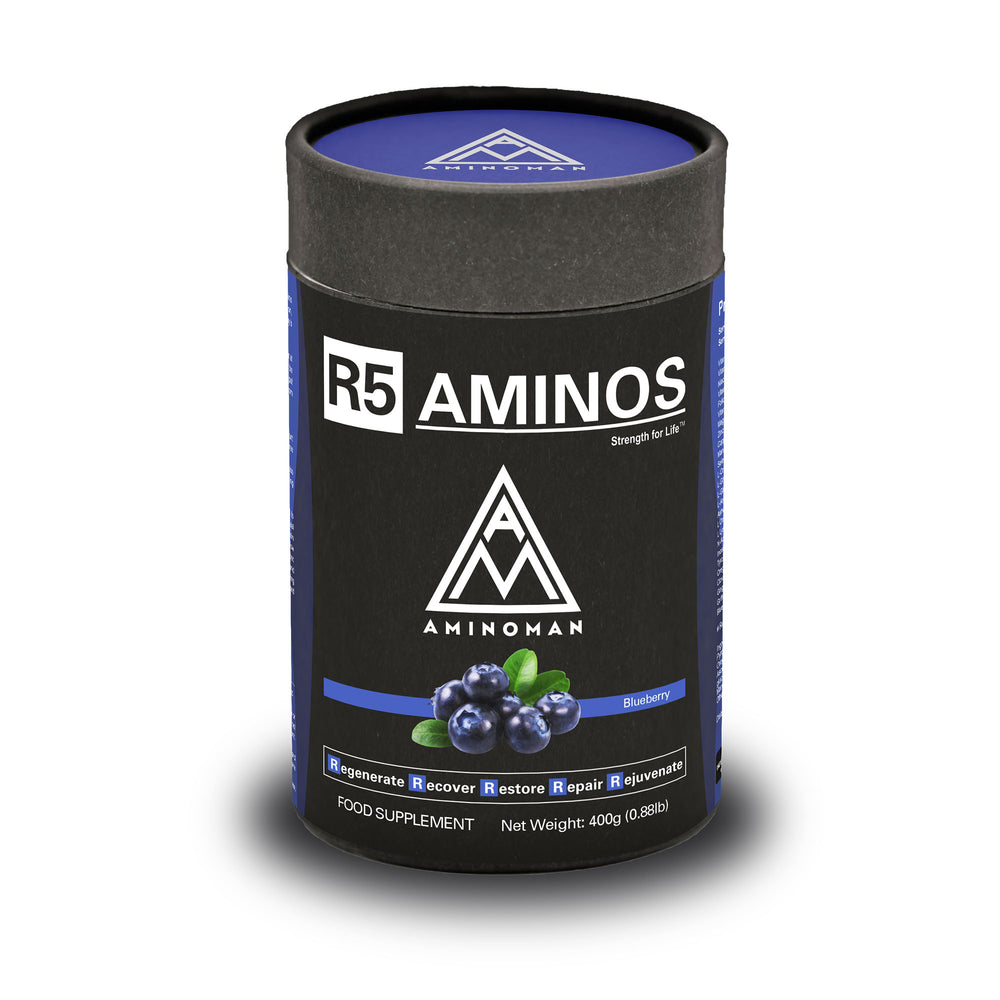R5 Aminos Blueberry | Recovery and Sleep Supplement