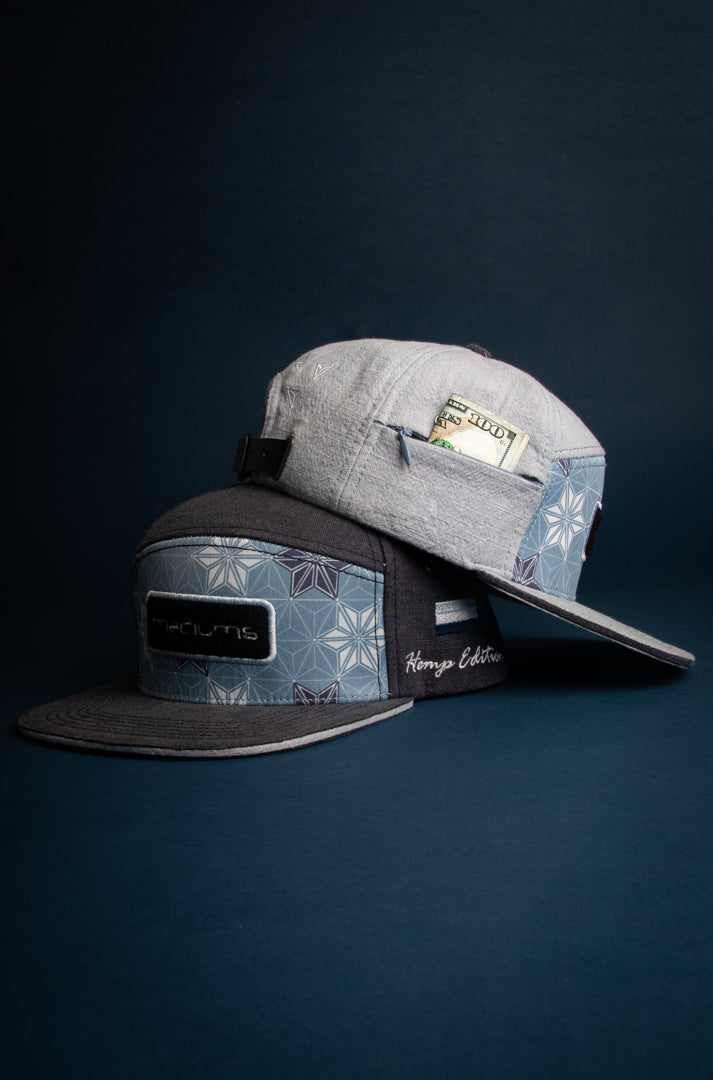 7Panel Hemp Cap - North Shore