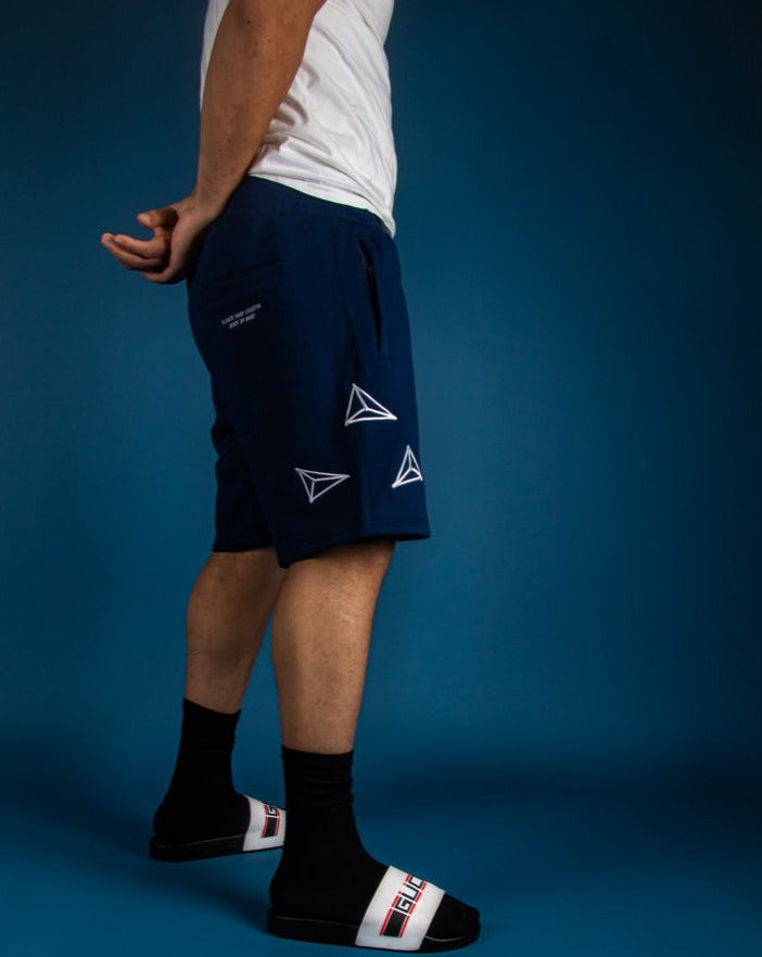 Athletic Fleece Shorts - West Coast Blue