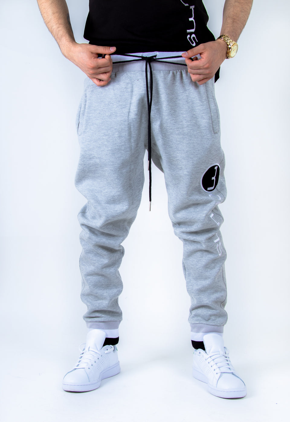Super Fleece Joggers - Gray