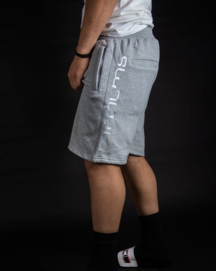 Fleece Shorts - Heather Gray
