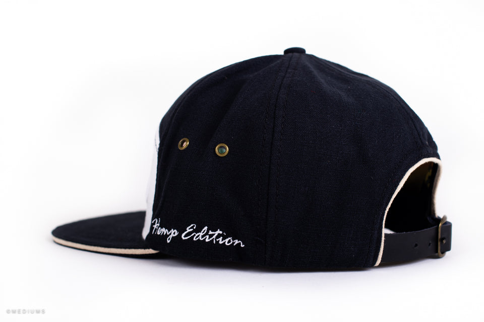 Hempfest Hemp Cap - Black