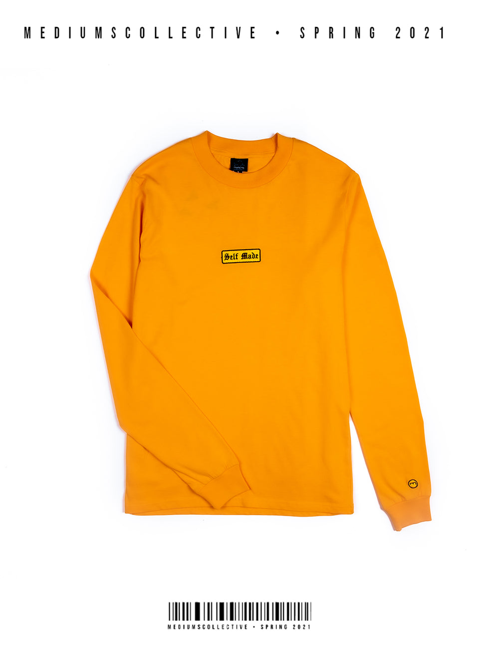 SELF MADE Long Sleeve Shirt - Mango Gold
