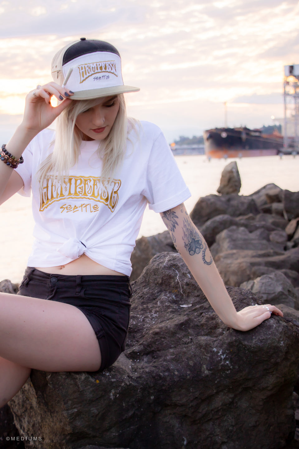 Hempfest T'shirt - White