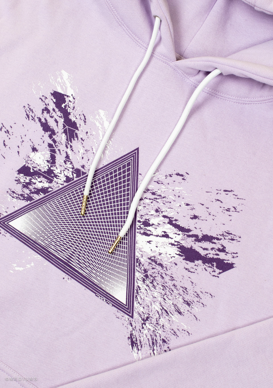 Sky High Design Hoodie - Purple Haze