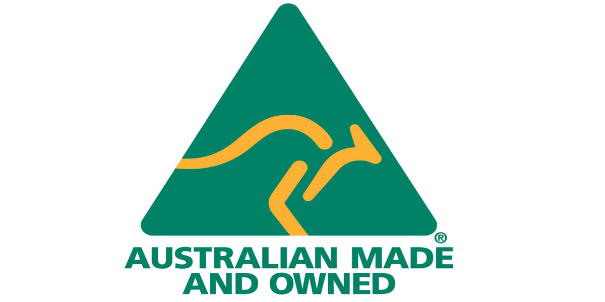 We are proudly 100% Australian owned and operated.