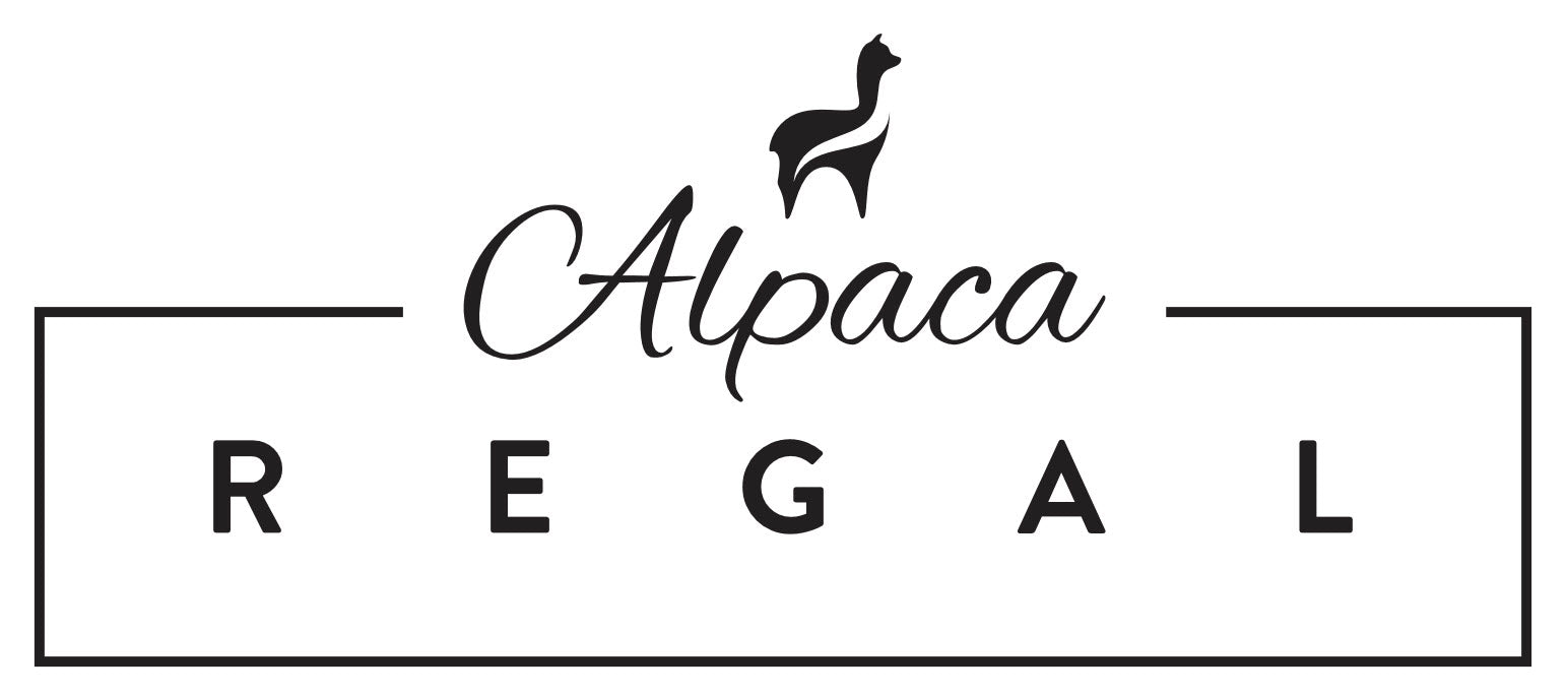 Alpaca Regal logo with alpaca logo