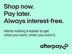 Buy now and pay later with Afterpay