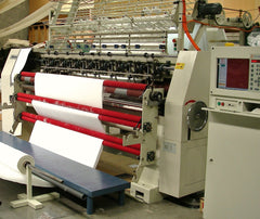 Quilting line at Kelly & Windsor